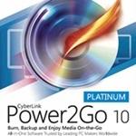 Power2Go 10 Platinum ダウンロード版