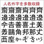 FEJP5ゴシック外字(外字1816文字のみ)