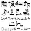【Design筆文字Font】 文次郎書体-甚- 【Mac版OpenTypeフォント】